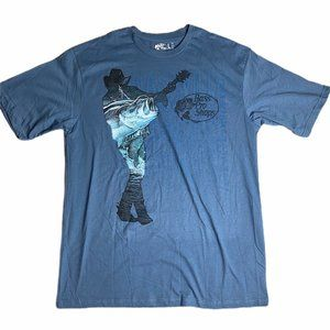 Bass Pro Shops Vintage Blue Graphic Tee